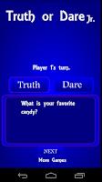Screenshot of Truth or Dare