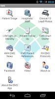 Screenshot of EMS Field Partner