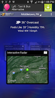 Screenshot of abc27 Weather
