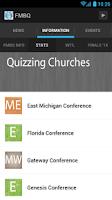Screenshot of Free Methodist Bible Quizzing