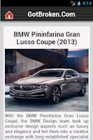 Screenshot of Tuning & Concept Car News