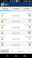 Screenshot of Liga 1 Romania