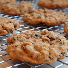 Oatmeal Brown Sugar Cookies with Raisins & Pecans