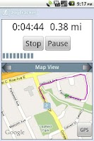 Screenshot of JogTracker Classic