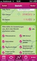 Screenshot of Never Forget Pillen Erinnerung