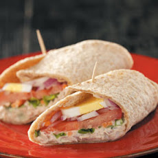 Grandma's French Tuna Salad Wraps Recipe