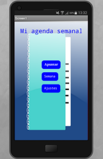 Mi agenda semanal - screenshot