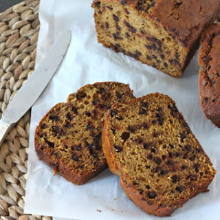 Brown Butter Chocolate Chip Pumpkin Bread