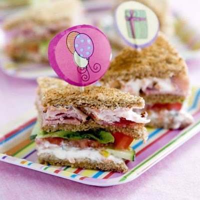 Kids' Club Sandwiches