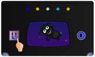 Screenshot of Dancing Space Dog