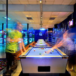 Let's play by Alexius van der Westhuizen - Sports & Fitness Other Sports ( lights, pool, neon, super league, people,  )