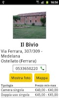 Screenshot of Cerca Bed and Breakfast