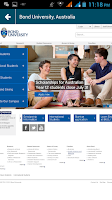 Screenshot of Universities in Australia