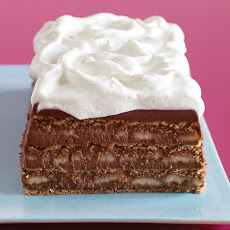 Chocolate, Banana, and Graham Cracker Icebox Cake
