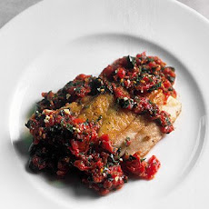Red Snapper Livornese Style