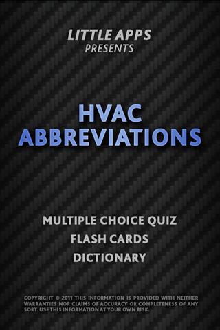 HVAC TECH ABBREVIATIONS