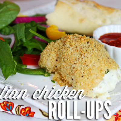 Italian Chicken Roll-Ups