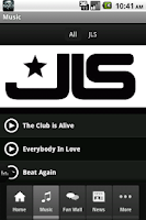 Screenshot of JLS Official
