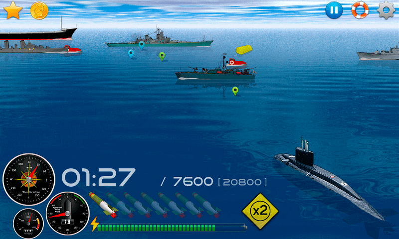 Silent Submarine Career Screenshot 7