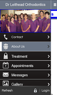 Dr Leithead Orthodontics - screenshot
