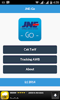 Screenshot of JNE-Go