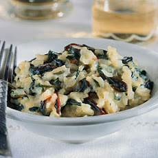 Risotto with Swiss Chard