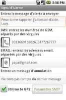 Screenshot of Alert SMS Email Sender