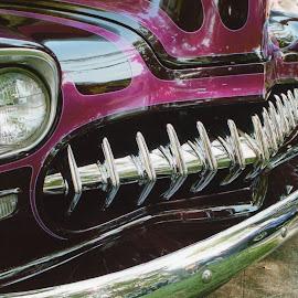 Chrome Teeth by Cory Bohnenkamp - Transportation Automobiles ( car, chrome, grille, chrome teeth, autmobile )