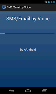 SMS / Email by Voice - screenshot