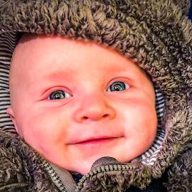 Little Man by Shawn Klawitter - Babies & Children Babies ( love, kids, baby, smiles )