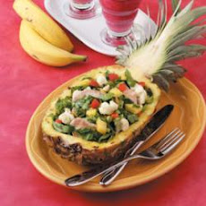 Pineapple Turkey Salad