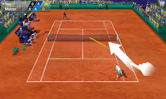 Screenshot of Tennis 3D