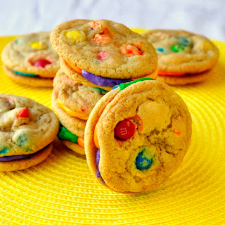 M & M Summer Fun Cookies