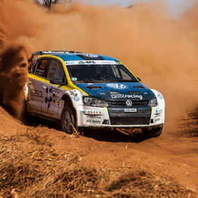 Rally 001 by Johan Niemand - Sports & Fitness Motorsports ( car, rally, racing, dust, dirt, stage )