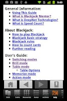 Screenshot of Blackjack Mentor