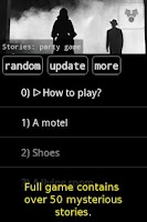 Screenshot of Stories: party game