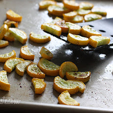 Roasted Yellow Squash