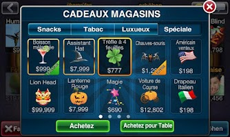 Screenshot of Texas Poker Deluxe Français