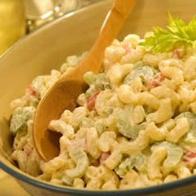 Classic Macaroni Salad with Real Mayonnaise