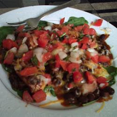 Mexican Chicken and Black Bean Salad