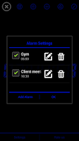 Screenshot of Night Display(Alarm Clock)