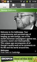 Screenshot of GallowApp