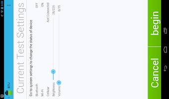 Screenshot of Battery Test Utility