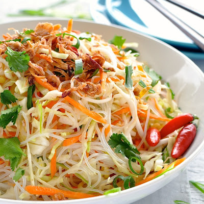 Asian Vermicelli Noodle Salad