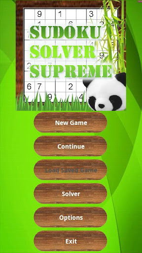 Sudoku Solver Game 9x9 16x16