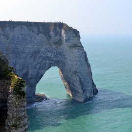 The Arch in the Sea- ETRETAT, FRANCE by Sajal Gupta - Landscapes Travel