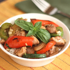 Italian Balsamic Chicken Stir Fry