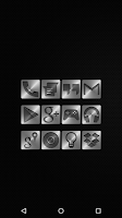 Screenshot of Metal - Icon Pack