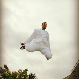 Jumpin' Jehoshaphat, I'm getting married today!  by Bob Ward - Wedding Groom