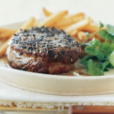 Pan-Seared Steak Au Poivre